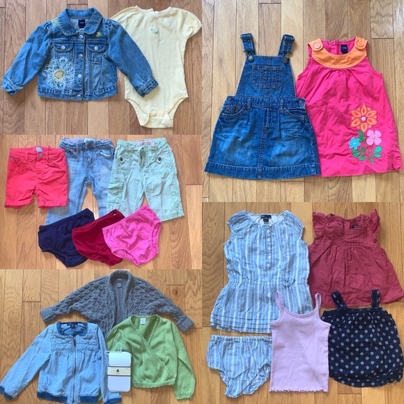 GAP Other - Lot Bundle of Baby Gap 24 Month Girls Clothes